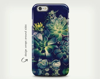 Succulents, iPhone 7 Case, iPhone 7 Plus Case, iPhone X Case, Floral Art, iPhone 8 Case, Samsung Galaxy Case, Galaxy S8 Plus Case
