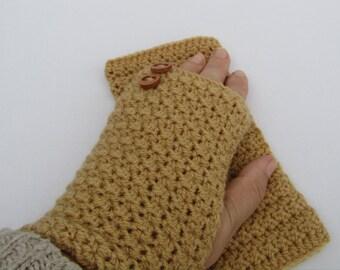 Crochet gloves, crochet fingerless gloves, UK handmade