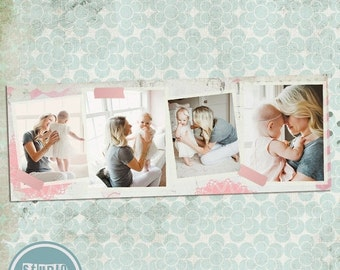 ON SALE INSTANT Download Timeline Cover Template, Photoshop Template