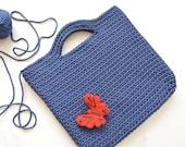 SALE! Crochet bag / tote / rope bag / knitted bag / handbag / crochet handbag / matket bag / gift for her / Christmas gifts