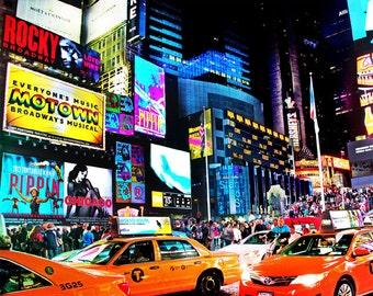 Times Square Print, Times Square Photo, NYC Print, New York City Print, NYC Photo, New York Print, NY Print
