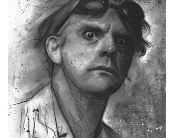 "Limited Run (20) Signed & Numbered Giclee Print by James Hance - ""Doc"" (Back To The Future / Christopher Lloyd)"