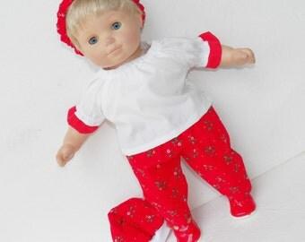 ee24443969c6 Bitty Baby Polar Bear Pajamas.American Girl Bitty Baby Ruffled Polar ...