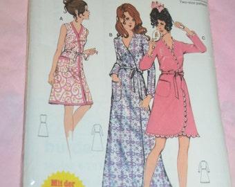 Burda 6 2036 Misses Robe Sewing Pattern -UNCUT - SIzes 36 + 38/40