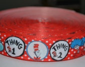 """Cats #1 7/8"""" Grosgrain Ribbon for Hair Bows, Scrapbooks, Cards Making, Gift Wrap"""