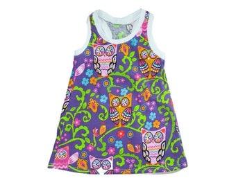 Tank Dress / Dress / Toddler Dress / Baby Dress / Girl Dress / Racerback Dress / Dress