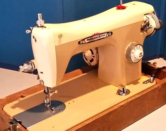 Restore by Stagecoach Road, Vintage Japanese Housekeeper De Luxe Sewing Machine w/Guaranty and Free Shipping