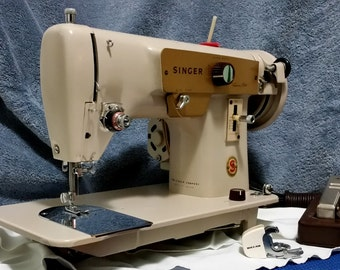 Restored Japanese-made Singer 223 Vintage Sewing Machine, by Stagecoach Road-Free Shipping and Guaranty