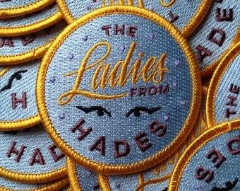 The Ladies from Hades Iron-on embroidered patch