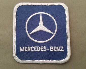 Mercedes benz  embroidered patch