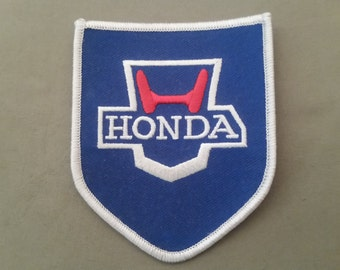 embroidered honda patch
