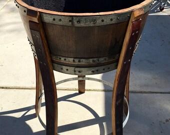 5 leg wine barrel ice chest