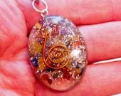 Orgone 7 Chakra Palmstone Keychain