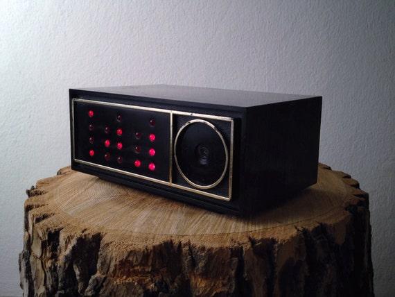 Vintage Binary Clock by Graymark Clock LED Binary Clock Kit