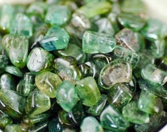 Green Tourmaline-Tumbled Green Tourmaline-AA Grade Green Tourmaline-Verdelite-Gem Quality Green Tourmaline-Blue Green Tourmaline-Tourmaline