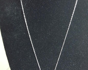 Vintage Sterling silver Peace Necklace