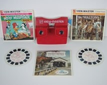 Gaf View-Master with Waltons, Woody Woodpecker, and New England Bridges Reels