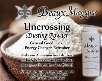 Uncrossing Dusting Powder ~ Invoke St. Michael or your preferred Guardian. Strongly visualize the removal all energies blocking you.
