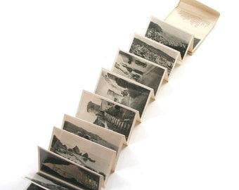 Vintage Miniature Postcards Tossa Talleres A Zerkowitz Barcelona