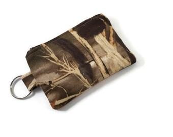 Coin Purse / Zip pouch / Change Purse in Realtree Max-4 Camo