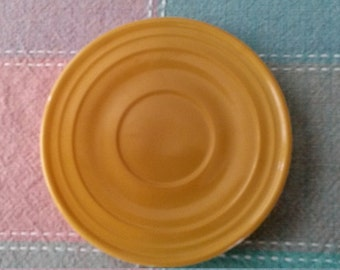 40% OFF - Vintage Saucer Mini Plate Coaster Yellow matches  FIESTAWARE -EXCELLENT - Use Coupon Code '40OFF'