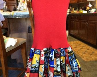 Red Star Wars Dress