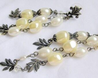 Original, one-of-a-kind, hand made, dangle earrings.