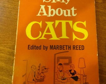 Silly About Cats book the Best Cat Cartoons of 1959
