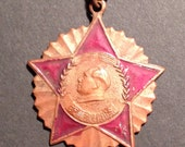 1951 china military medal dated 1951 on back