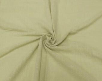 Banana Slub Cotton Gauze Fabric - 1 Yard Style 640-BANANA