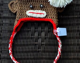 Monkey Santa hat