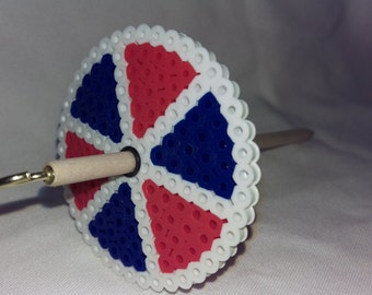 Patriotic Circle - Bead Spindle - 13 grams