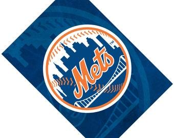 Passport Cover Case Holder -- New York Mets