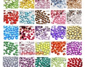4mm 1000 pieces / 40 Colors Rhinestones Resin Flatback 14 Fact High Quality ( Choose Your Colors)