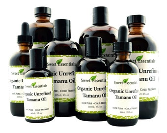 Organic Unrefined Tamanu / Foraha Oil | Imported From Tahiti | 100% Pure | Various Sizes | Free Shipping | Hair & Skin Use