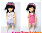 Sale 25% Off BJD YoSD 1/6 Doll clothing - Camisole in 2 Colors