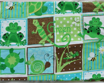 Three yards of kids print cotton fabric
