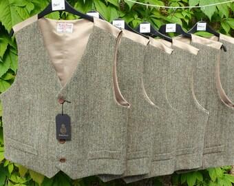 Gents Harris Tweed Waistcoat