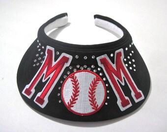 """Visor """" Baseball MOM """""""