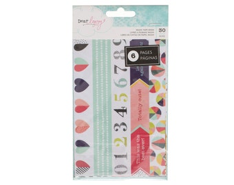 Dear Lizzy - Saturday Collection - Washi Tape Book - 30 pieces - 376271