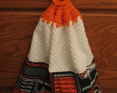 NFL Kitchen/Utility Hanging Towel Wipe-Denver Broncos - Free Shipping