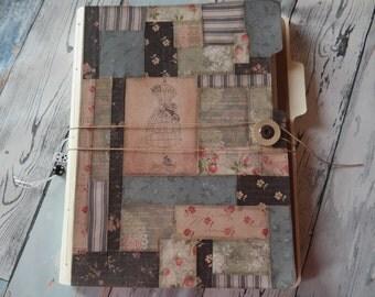 File folder notebook Smashbook