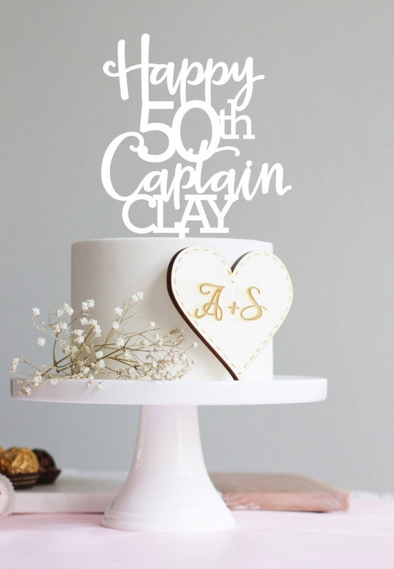 Cake Toppers Birthday Etsy : Items similar to Happy 30th birthday cake topper, birthday ...