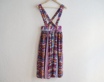 80s Dress/ Pinafore Dress / Vintage Dress