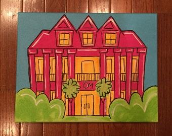Phi Mu House Painting