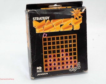 Yatzy Strategy Game from Jensen 1982 COMPLETE