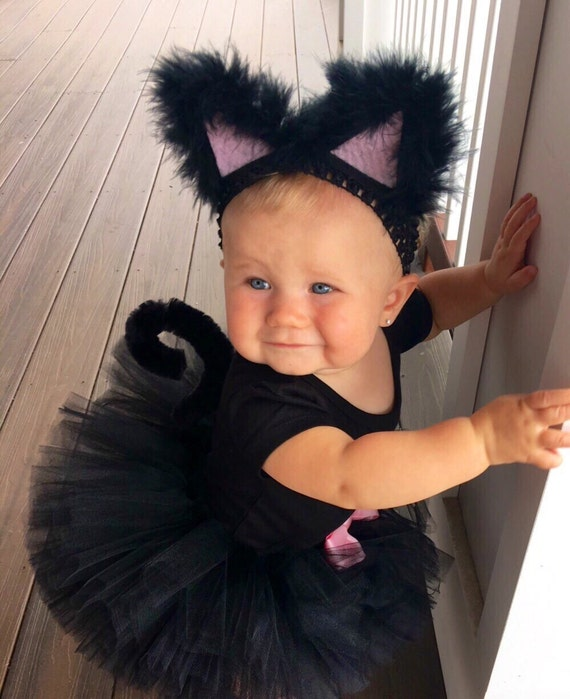 Black Cat Costume with bow