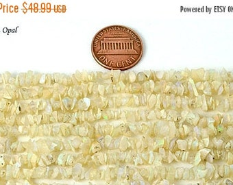 CIJ 55% OFF 5 Strands Ethiopian Opal Chip Beads 34 inch, Full Strands 34 inch strands Wholesale Price. Code ( CHOP-70001)