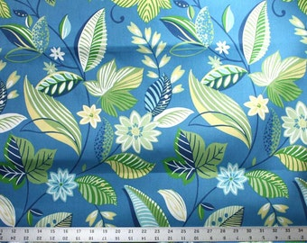 One Yard and 15 Inches of Skyworks Caribbean Indoor / Outdoor Richloom Solarium Fabric