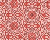 Joel Dewberry Botanique 'Mosaic Bloom' in Sunset Cotton Fabric